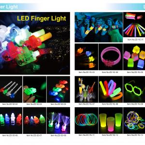 Glowing finger light,light stick