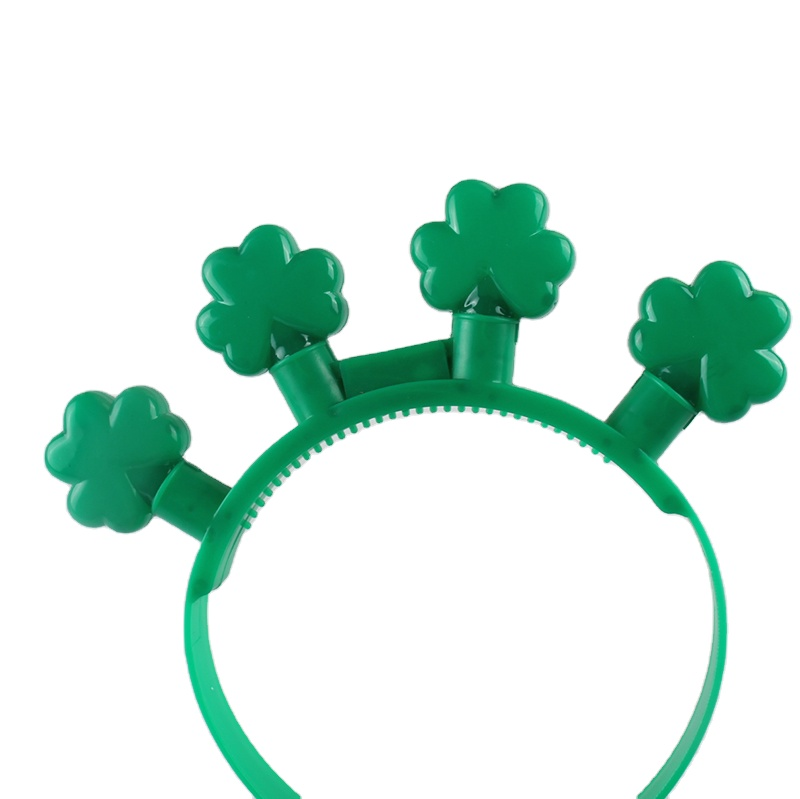 clover light up headband