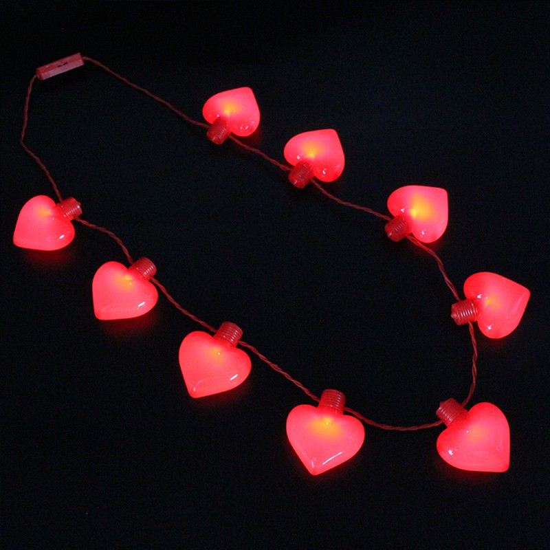 glow led necklace