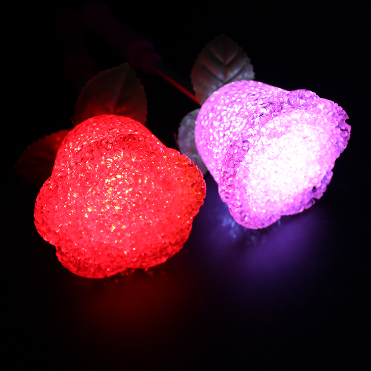 led rose stick