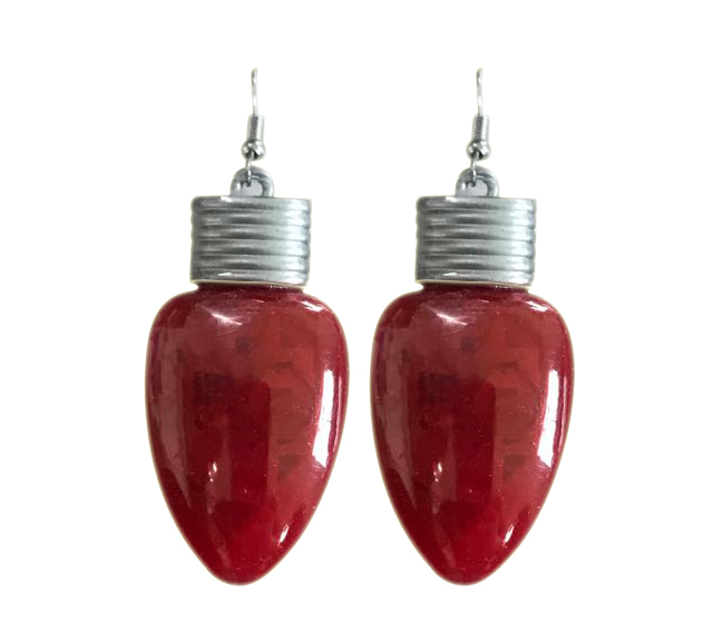 light up bulb earrings